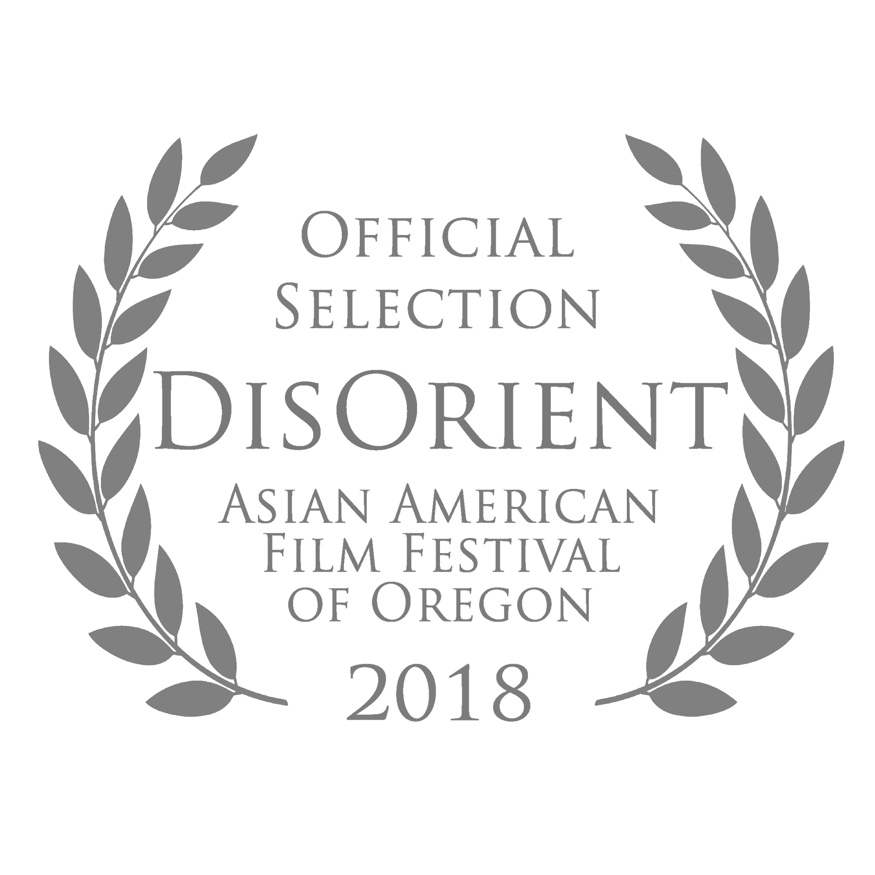 DisOrient Asian American Film Festival of Oregon logo